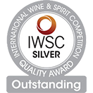 International Wine and Spirit Competition: Silver medal Outstanding