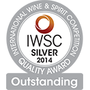 International Wine & Spirit Competition: Silver medal Outstanding